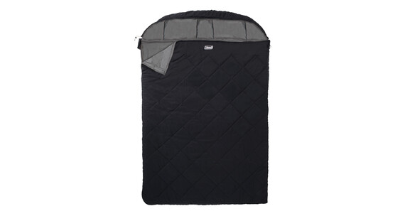 Coleman Breckenridge Double - Sac de couchage - 2 places noir